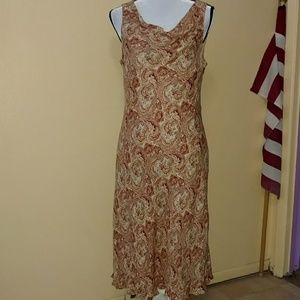 Ann taylor silk dress size 14